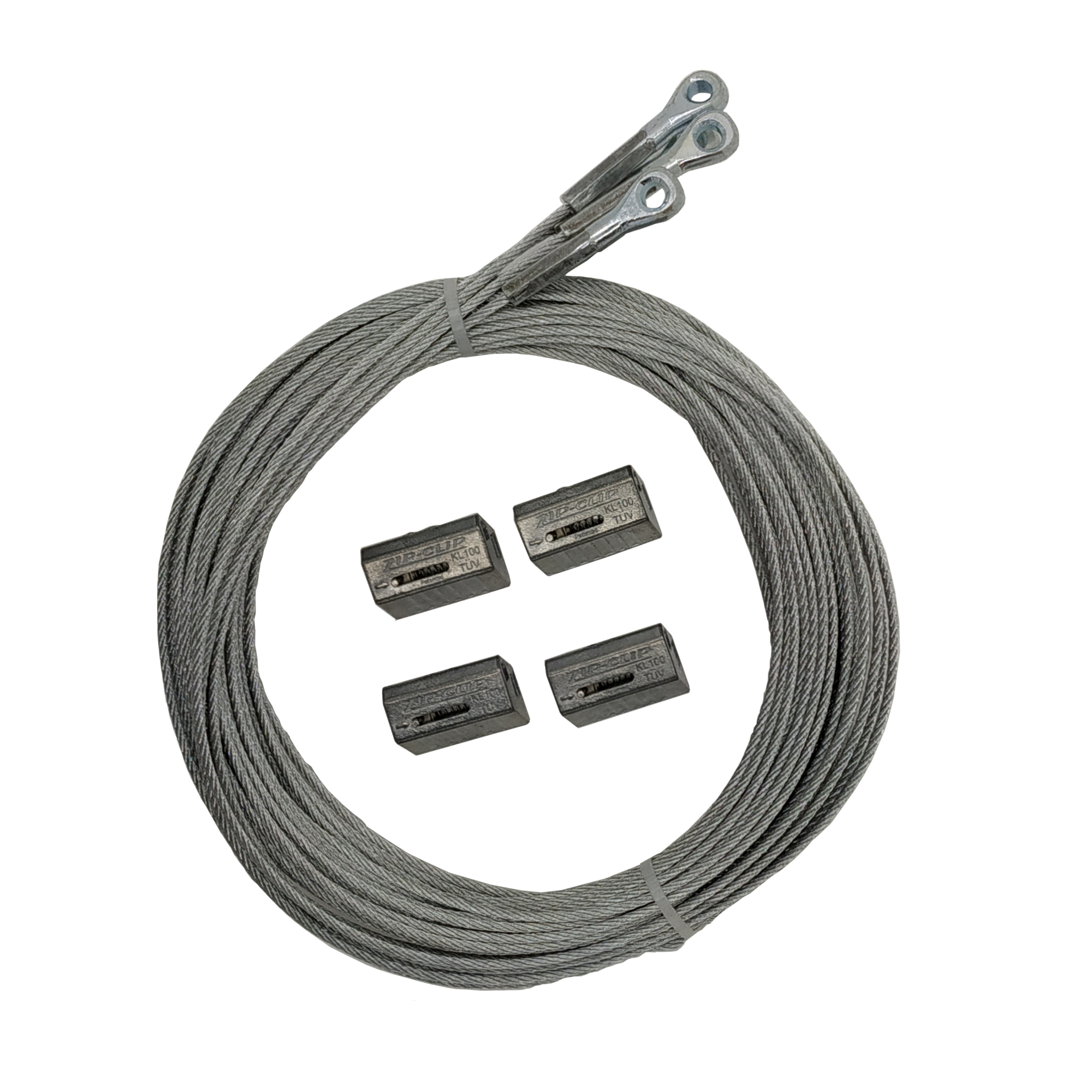 Zip-Lock ZLS 50 kgs WLL Eye Type Cables Pack of 4 pcs